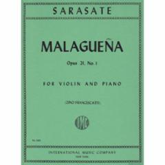 Malaguena, Op.21, No.1 for Violin and Piano