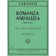 Romanza Andaluza, Op.22, No.1 (Violin)