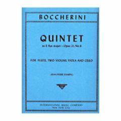 Quintet in Eb Major, Op.21, No.6 (Flute, Two Violins, Viola and Cello)