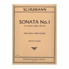 Sonata No.1 in A Minor, Op.105 (Viola and Piano)