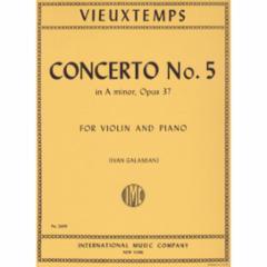 Concerto No. 5 for Violin and Piano