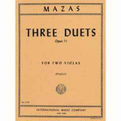 Three Duets for Two Violas