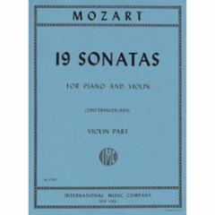 19 Sonatas for Violin and Piano