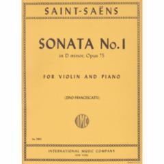 Sonata No.1 in D minor, Op.75 (Violin)