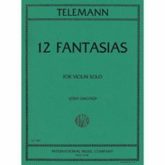 12 Fantasias for Violin