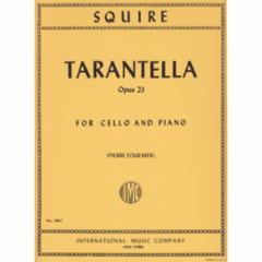 Tarantella, Op. 23 for Cello and Piano