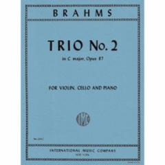 Trio No.2 in C Major, Op.87 for Violin, Cello and Piano