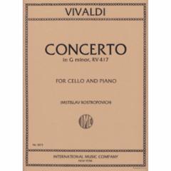 Concerto in G Minor, F. III, n. 15 (Cello)
