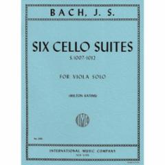 Six (Cello) Suites, S. 1007-1012 Arranged for Viola