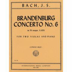 Brandenburg Concerto No. 6 for Two Violas and Piano