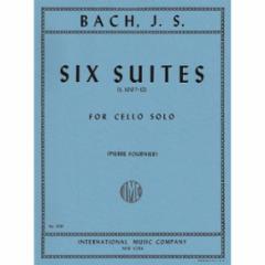 Six (Cello) Suites, S. 1007-1012 (Fournier Edition)