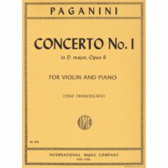 Concerto No.1 in D Major, Op.6
