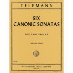 Six Canonic Sonatas for Two Violas