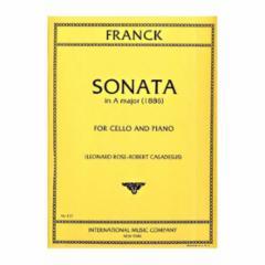Sonata in A Major for Cello and Piano