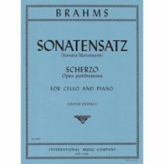 Sonatensatz, Scherzo, Op. posth. (Cello and Piano)