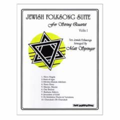 Jewish Folksong Suite for String Quartet