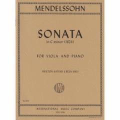 Sonata in C Minor for Viola and Piano