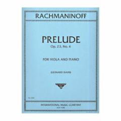 Prelude, Op. 23, No. 4 (Viola and Piano)
