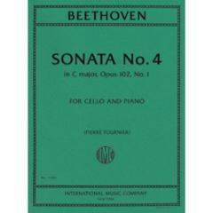 Sonata in C Major, Op. 102, No.1 (Cello)