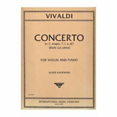 Concerto in C Major, F.I, No.47 (Violin and Piano)