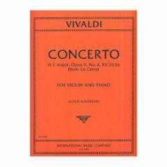 Concerto in E Major, Op.9, No.4, RV 263a (from La Cetra)