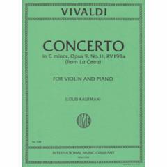 Concerto in C Minor, Op. 9, No. 11 for Violin and Piano