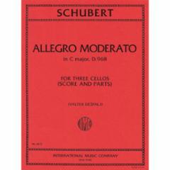 Allegro Moderato in C Major, D.968 (Three Cellos)