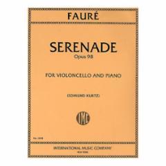 Serenade, Op. 98 for Cello and Piano