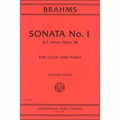 Sonata No. 1 in E Minor, Op. 38 (Cello)