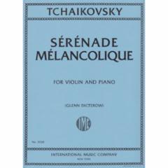 Serenade Melancolique, Op. 26 for Violin