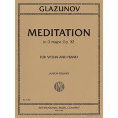 Meditation in D Major, Op. 32 for Violin