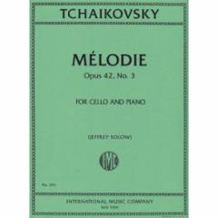 Melodie Op. 42, No. 3