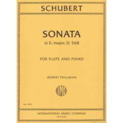 Sonata in Eb Major, D. 568 for Flute and Piano
