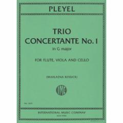 Trio Concertante No. 1 in G Major for Flute, Viola, and Cello