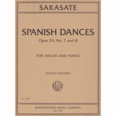 Spanish Dances Op. 26, Nos. 7-8