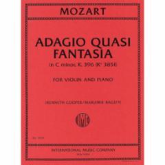 Adagio Quasi Fantasia, K. 396 for Violin and Piano