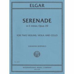 Serenade in E Minor, Op. 20 for String Quartet