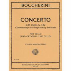 Concerto in Bb Major, G. 482 for Cello