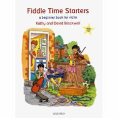 Fiddle Time Starters: A Beginner Book for Violin