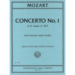 Concerto No. 1 in Bb Major, K.207 for Violin