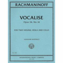 Vocalise, Op. 34, No. 14 for String Quartet