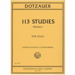 Dotzauer 113 Studies for Cello