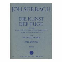 The Art of the Fugue BWV1080 for String Quartet