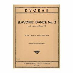 Slavonic Dance No.2 in E Minor, Op.72 (Cello)