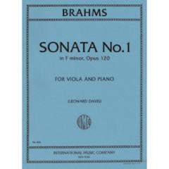 Sonata in F Minor, Op. 120 for Viola and Piano