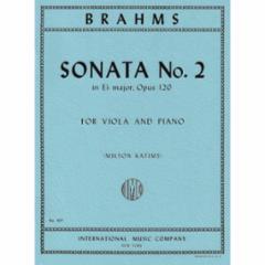 Sonata No.2 in Eb Major, Op.120 for Viola