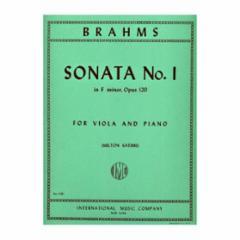 Sonata No.1 in F Minor, Op.120 for Viola