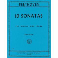 Ten Sonatas for Violin and Piano (Francescatti)