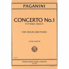 Concerto No.1 in D Major, Op.6 for Violin