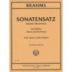 Sonatensatz (Scherzo) for Violin or Viola